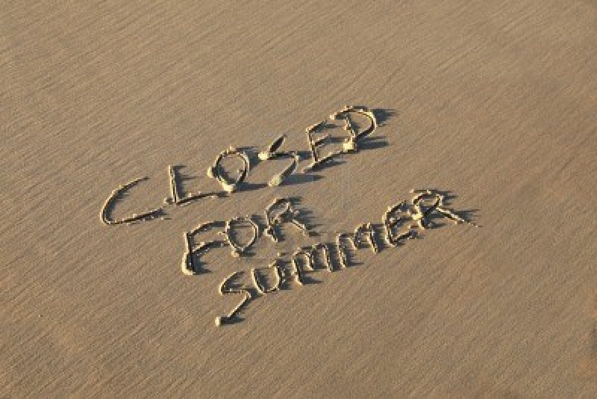 Image result for CLOSED FOR SUMMER