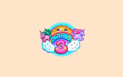 Cute Diablo 3 Logo Funny Art Desktop Wallpaper