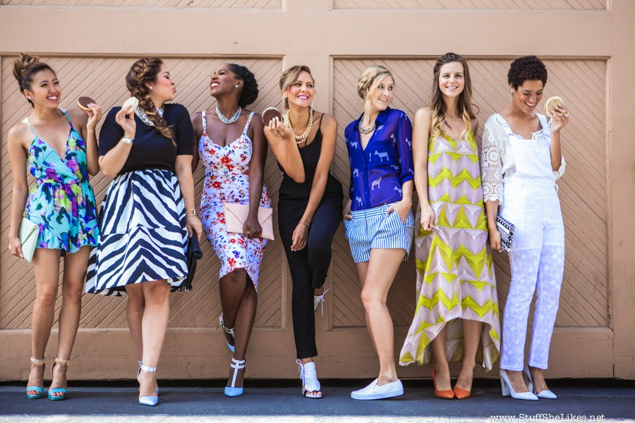 Stuff she Likes, Summer Fashion Trends, KTLA news, Express, Lulus, Shoe Dazzle, Call it spring, Top blogger, Top ten fashion blogger, TV host, Fashion TV host Taye hansbery, Blogger