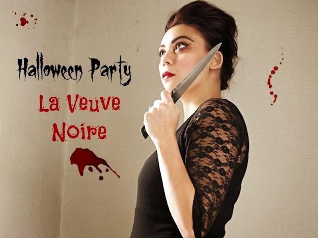 Halloween party: La Veuve Noire