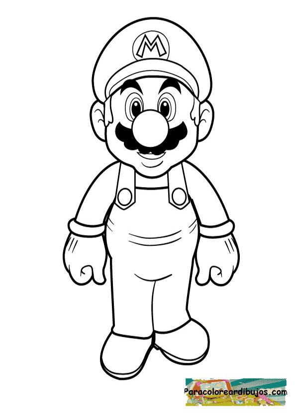 Search results for super mario coloring pages calendar - Dibujos de super mario bros ...