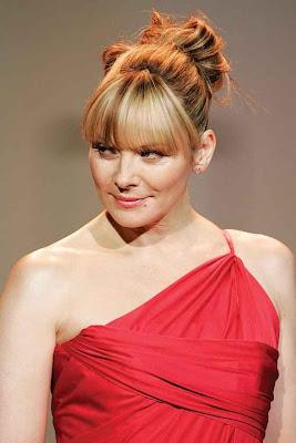 Kim Cattrall vestido de moda