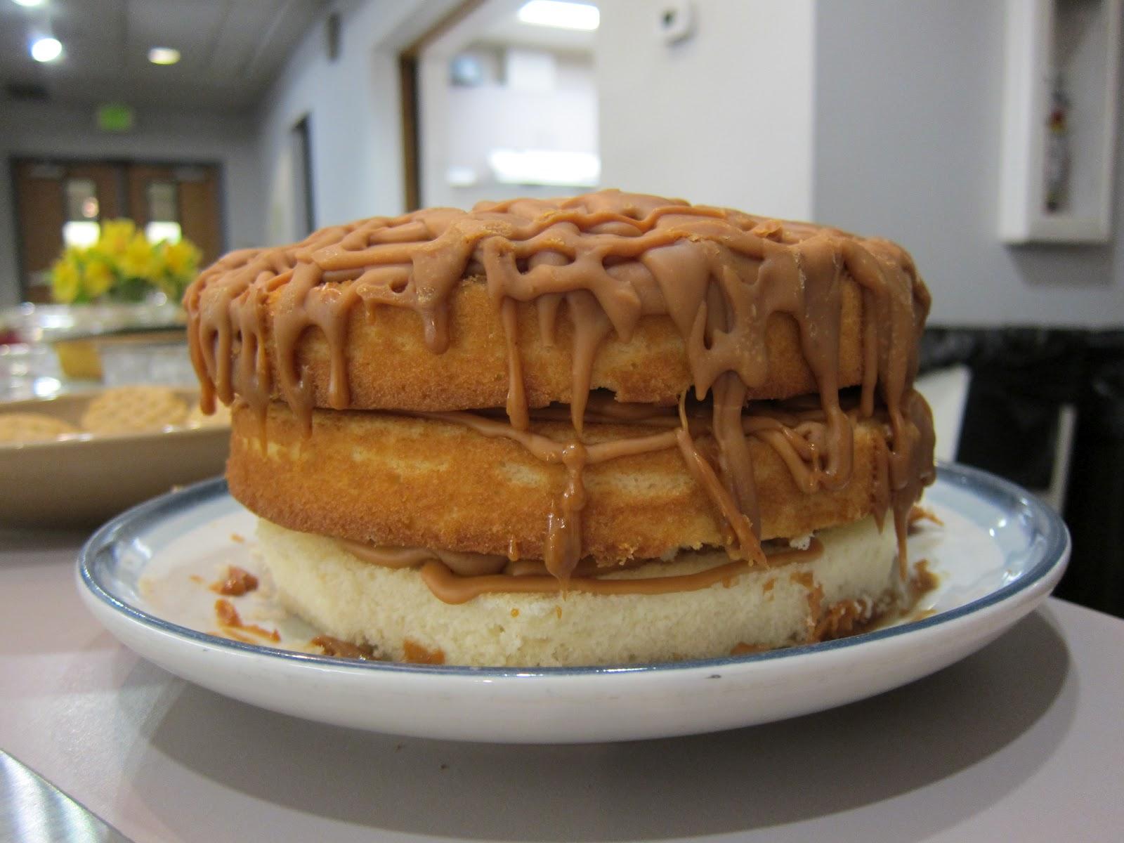 The Help Caramel Cake Recipe