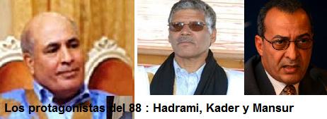 La traición del 88 hizo renacer el tribalismo en la sociedad saharaui