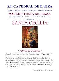 SANTA CECILIA 2011 MISA