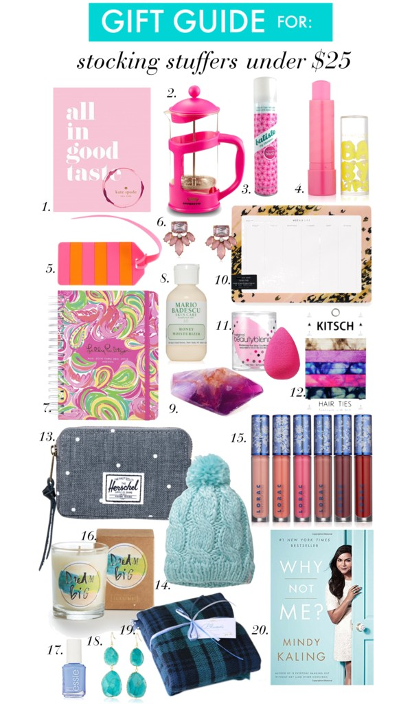Stocking Stuffers Under $25 (& Free 2 Day Shipping if you're an Amazon Prime member!)