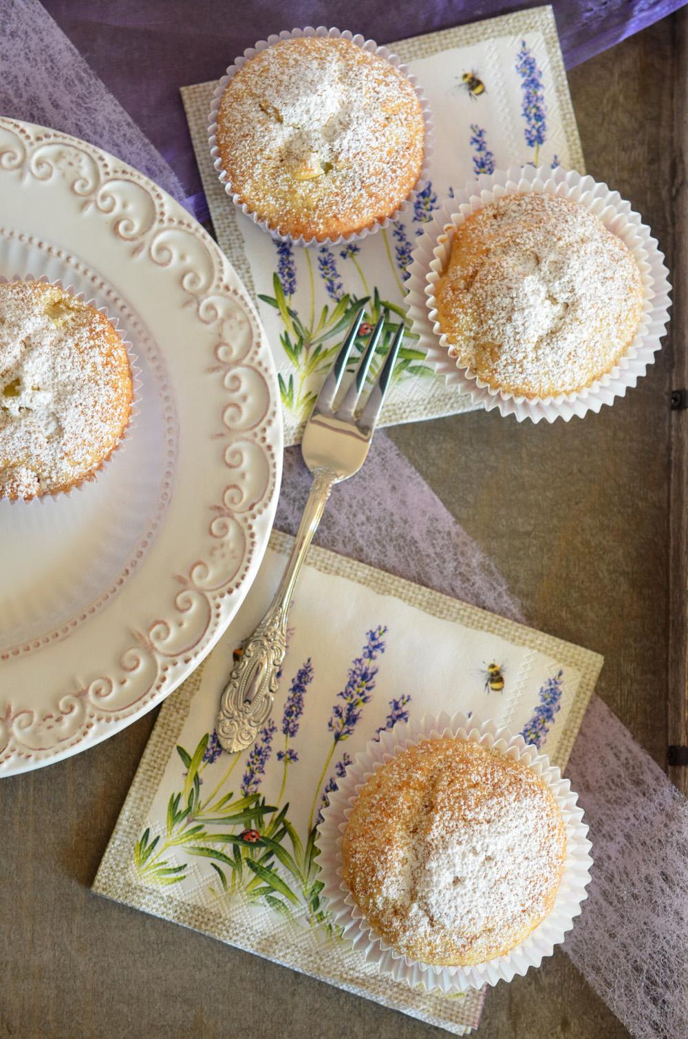 Rhabarber-Frischkäse-Muffins