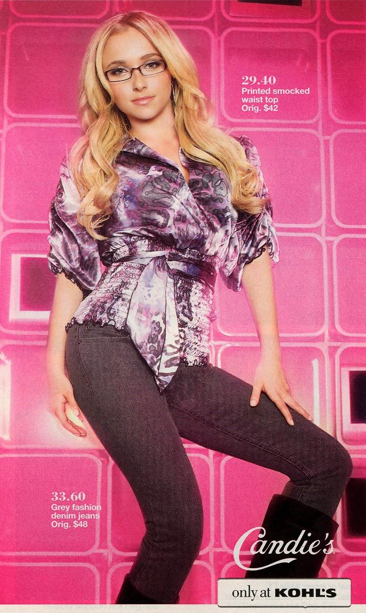 Catalog Cuties: Hayden Panettiere for Kohl's