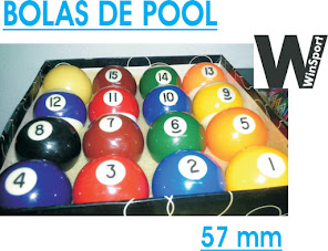 Bolas Pool  $ 600