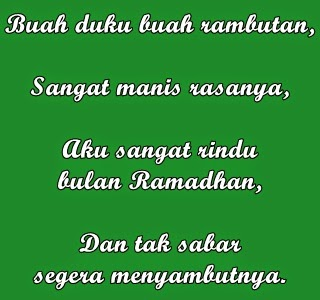 Pantun Ucapan Menyambut Bulan Suci Ramadhan