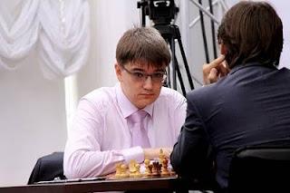 Echecs à Moscou : Ronde 7, Evgeny Tomashevsky (2738) vainqueur d'Alexander Morozevich (2769) - Photo © ChessBase