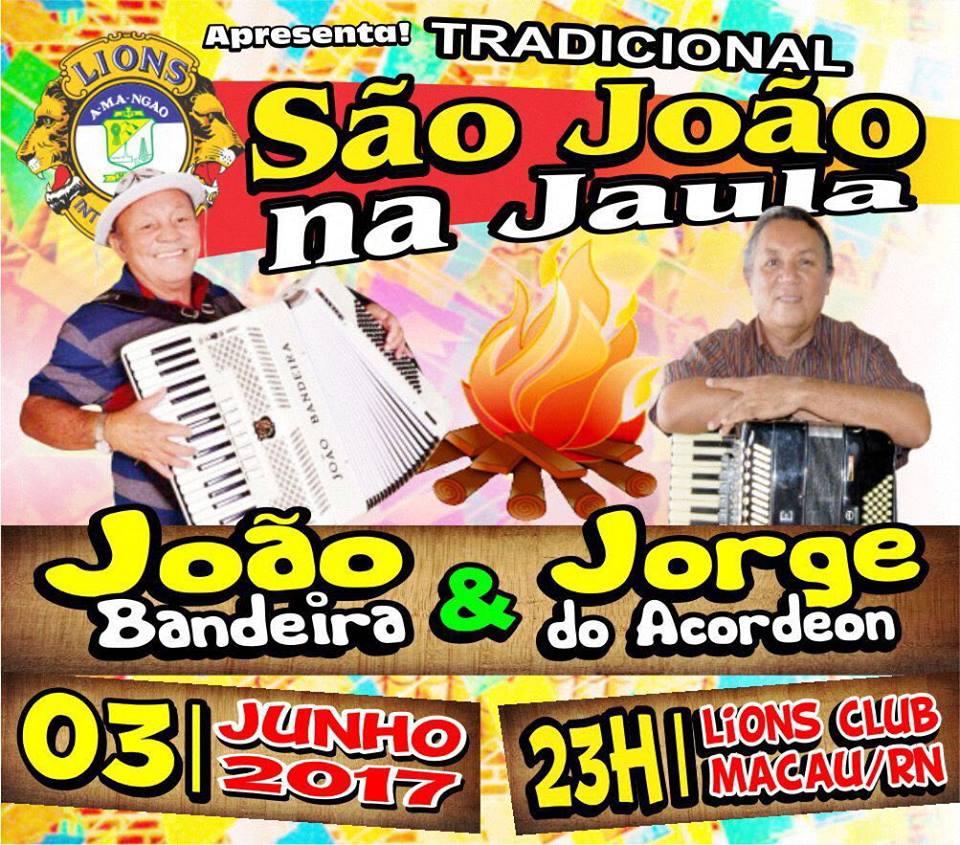 SÃO JOÃO NA JAULA //// 03-06-17