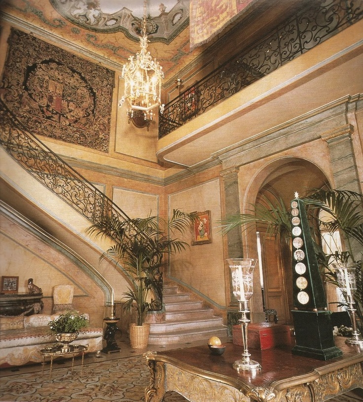 Foyer And Entrance Of The Windsor Hotel : Nicolas de pompadour beyond extravagance villa windsor
