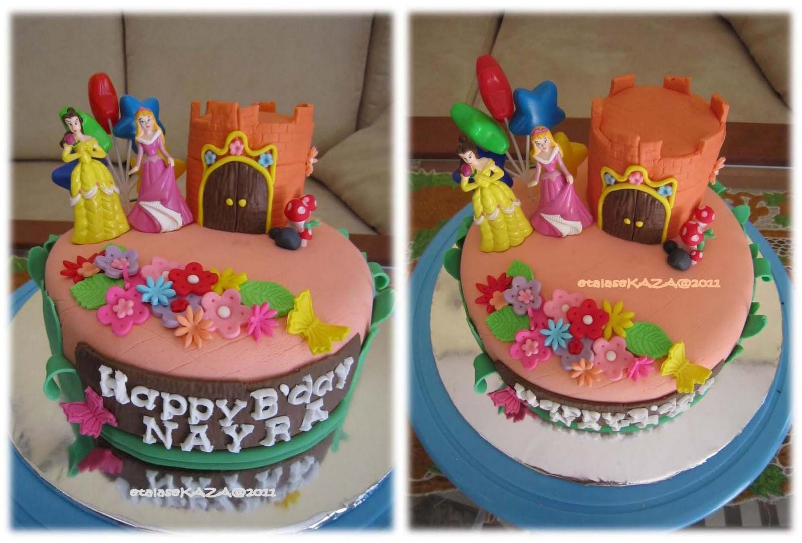 Etalase KAZA Nayras Birthday Cake