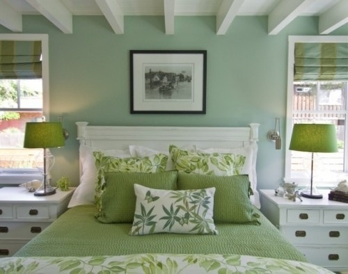 Jade Green Bedroom Ideas - Interior Designs Room