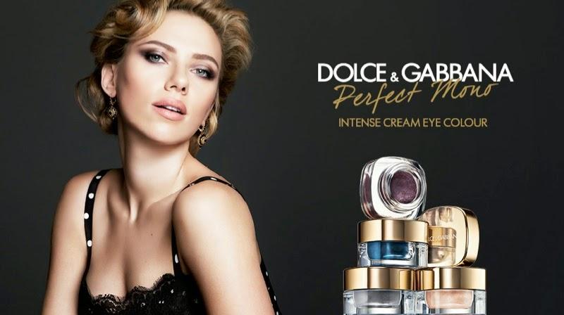 Dolce & Gabbana 'Perfect Mono' Eyeshadow Campaign starring Scarlett Johansson