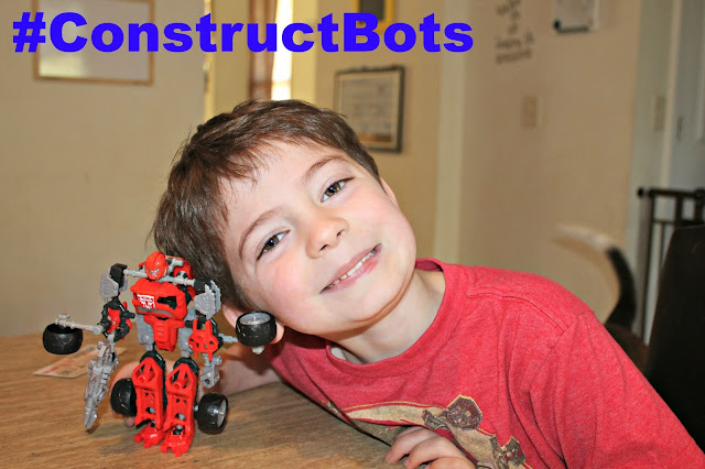 My three Bittles: #ConstructBots #Sponsored  AWESOME AWESOME gift for any kid! TRANSFORMER CONSTRUCT BOTS! So cool!