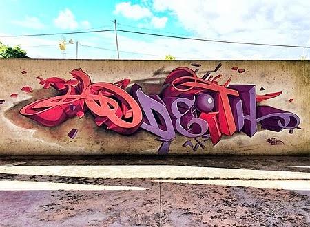 Amazing Amazing 3d Graffiti By Odeith Amazing Arts