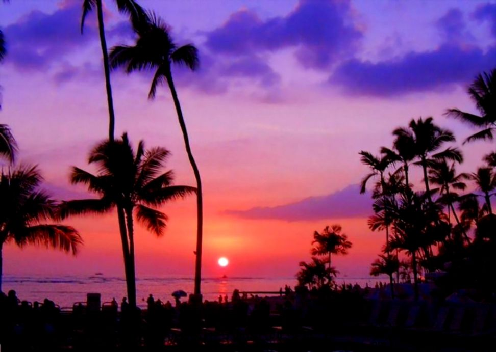 Hawaii Sunset Wallpapers   Wallpaper Cave