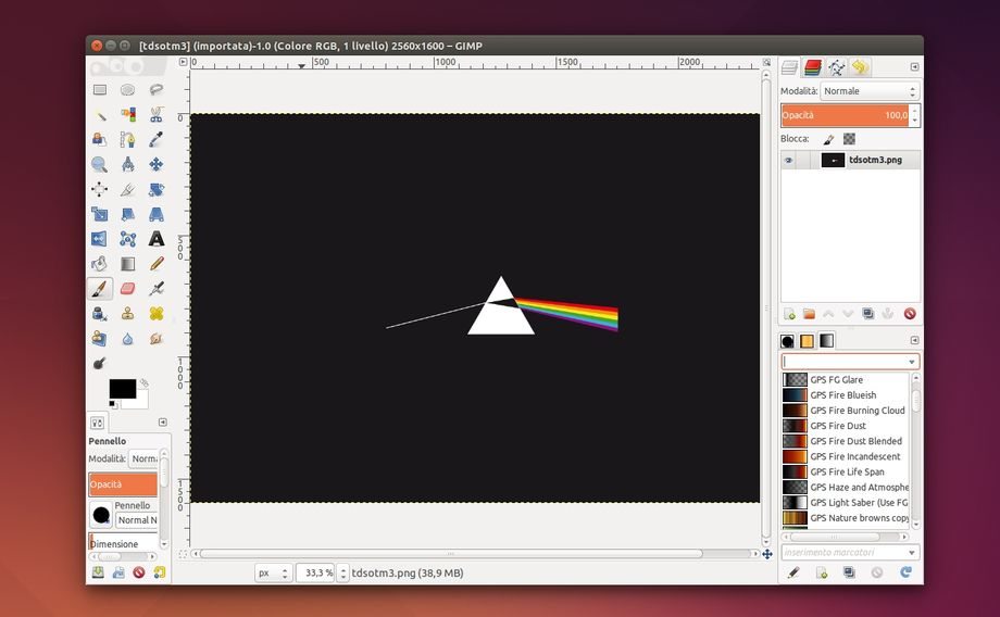GIMP Paint Studio 2.0 in Ubuntu