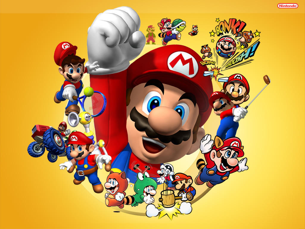 Nintendo blog: Wallpapers do super mario