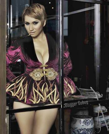 DJ Milinka Model Majalah Male | Blogger Gubug