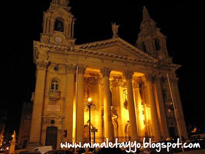 Iglesia de San Publio en Floriana, Malta