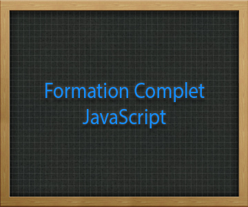 Formation Complet JavaScript