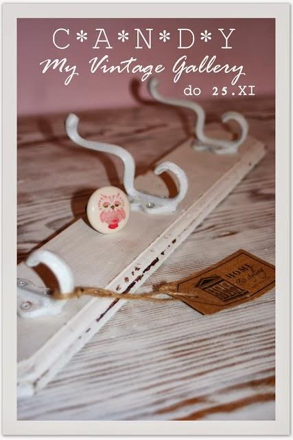 Moje pierwsze wygrane Candy w My Vintage Gallery u Emanuelle!!