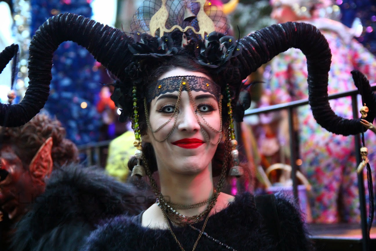 the New York City  Village Halloween parade 2014