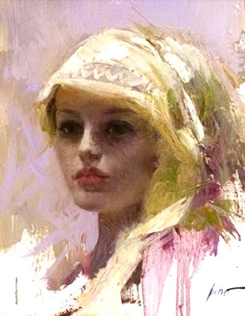 giuseppe dangelico pino painting