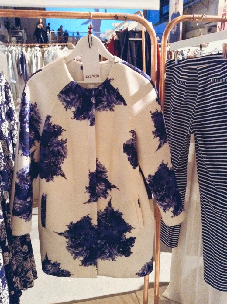 primark ss15 press day floral coat