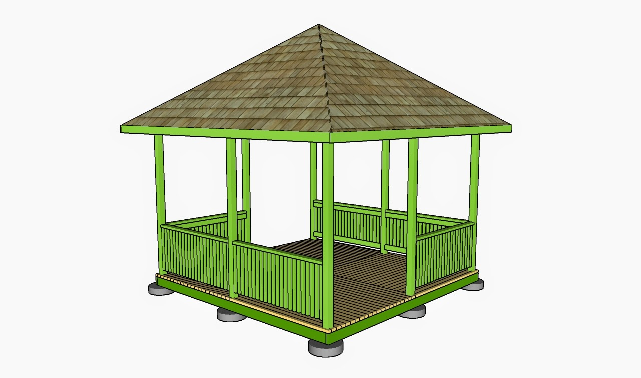 Free Gazebo Plans How To Build A Gazebo How To Build A
