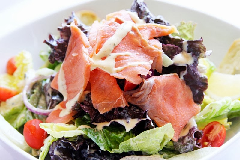 Smoked Salmon Salad Kettle Shangri-La