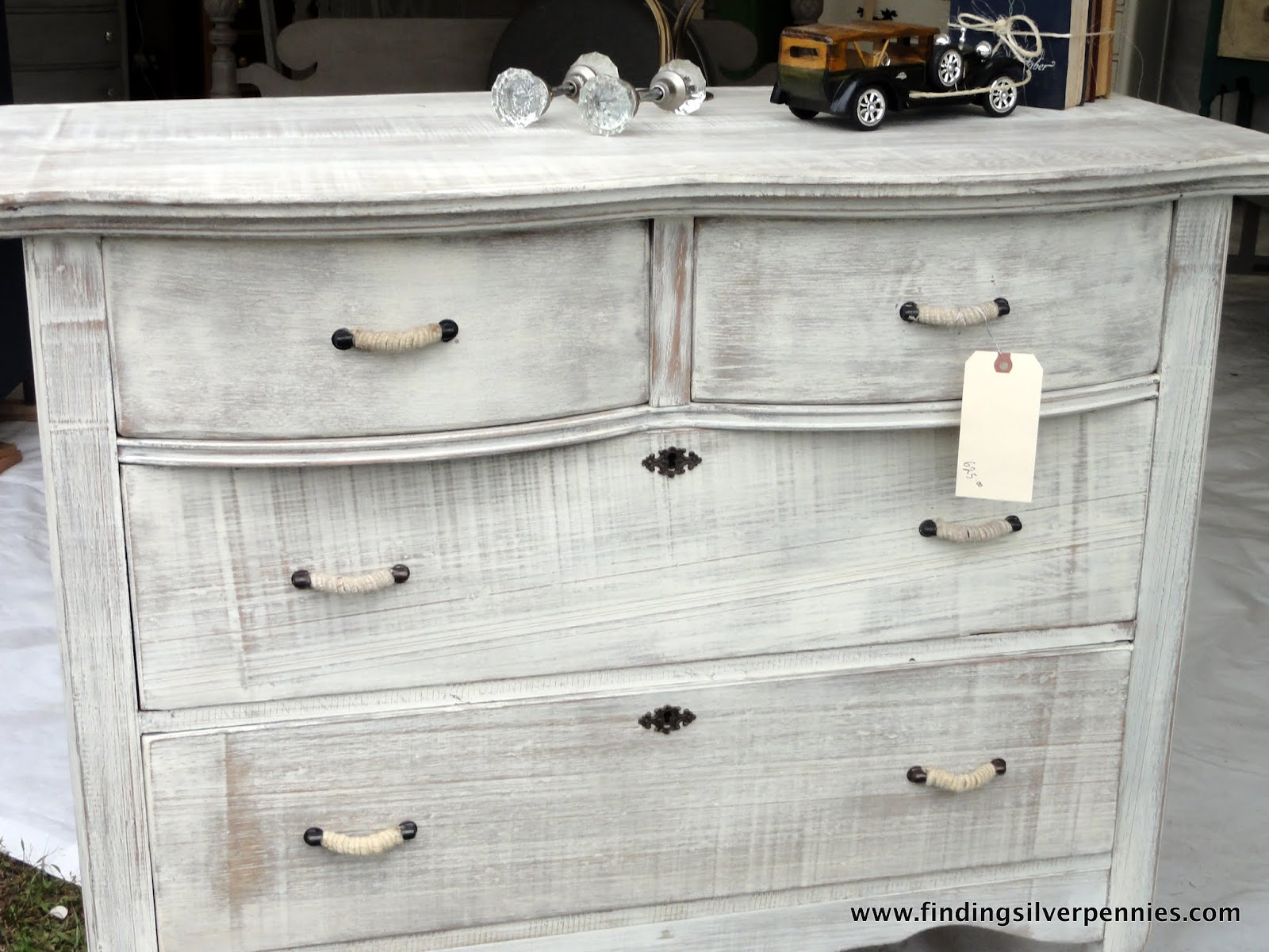 KingstonKrafts White Washed Dresser