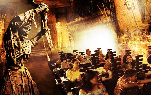 Universal Studios Park Mummy