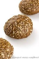 Булочки из цельного зерна