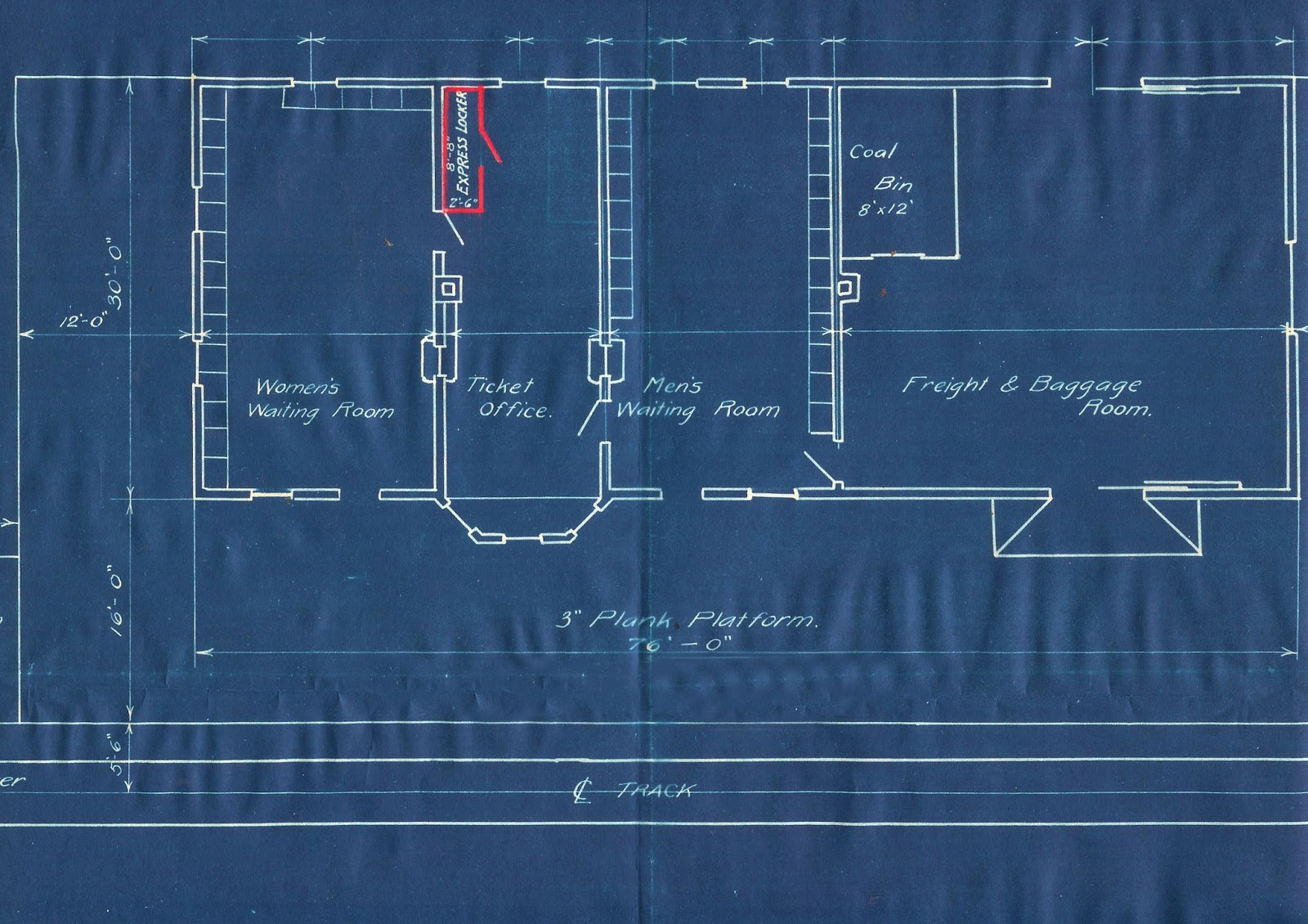 Great northern rwys mansfield branch line 1909 1985 and the mansfield depot blueprints malvernweather Choice Image