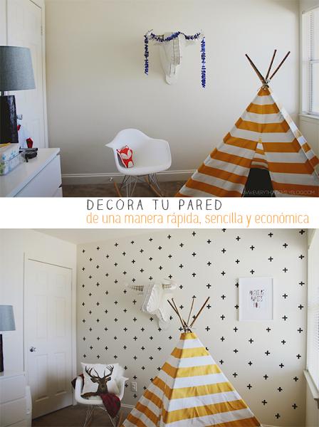 Gotele decorar tu casa es - Pintar paredes con gotele ...