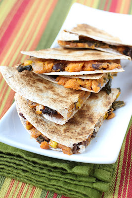 ... Girl's Kitchen: Winner Announced and Sweet Potato and Kale Quesadillas