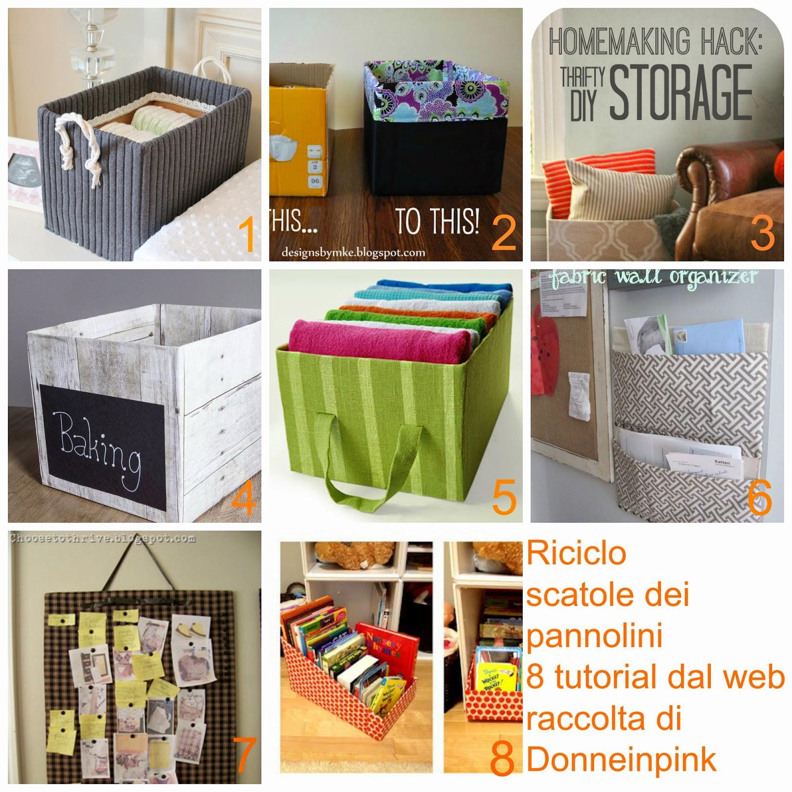 Riciclare i cartoni dei pannolini riciclo scatole 8 - Riciclare scatole ...