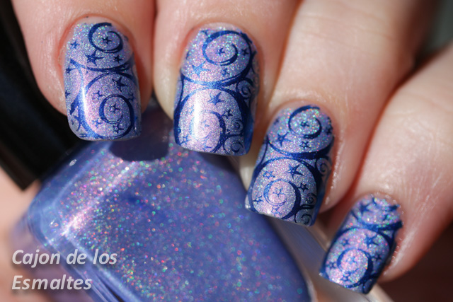 fun lacquer anna born pretty stamping