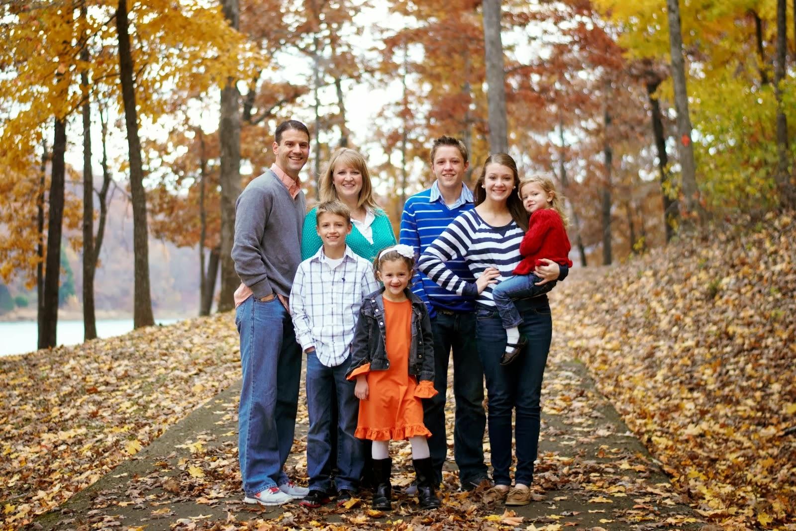 Edward, Stephanie, Ross, Elizabeth, Drew, Mallory, & Lucy