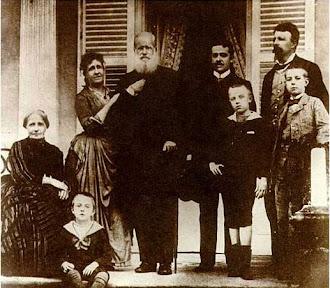 D.Pedro II  e família.