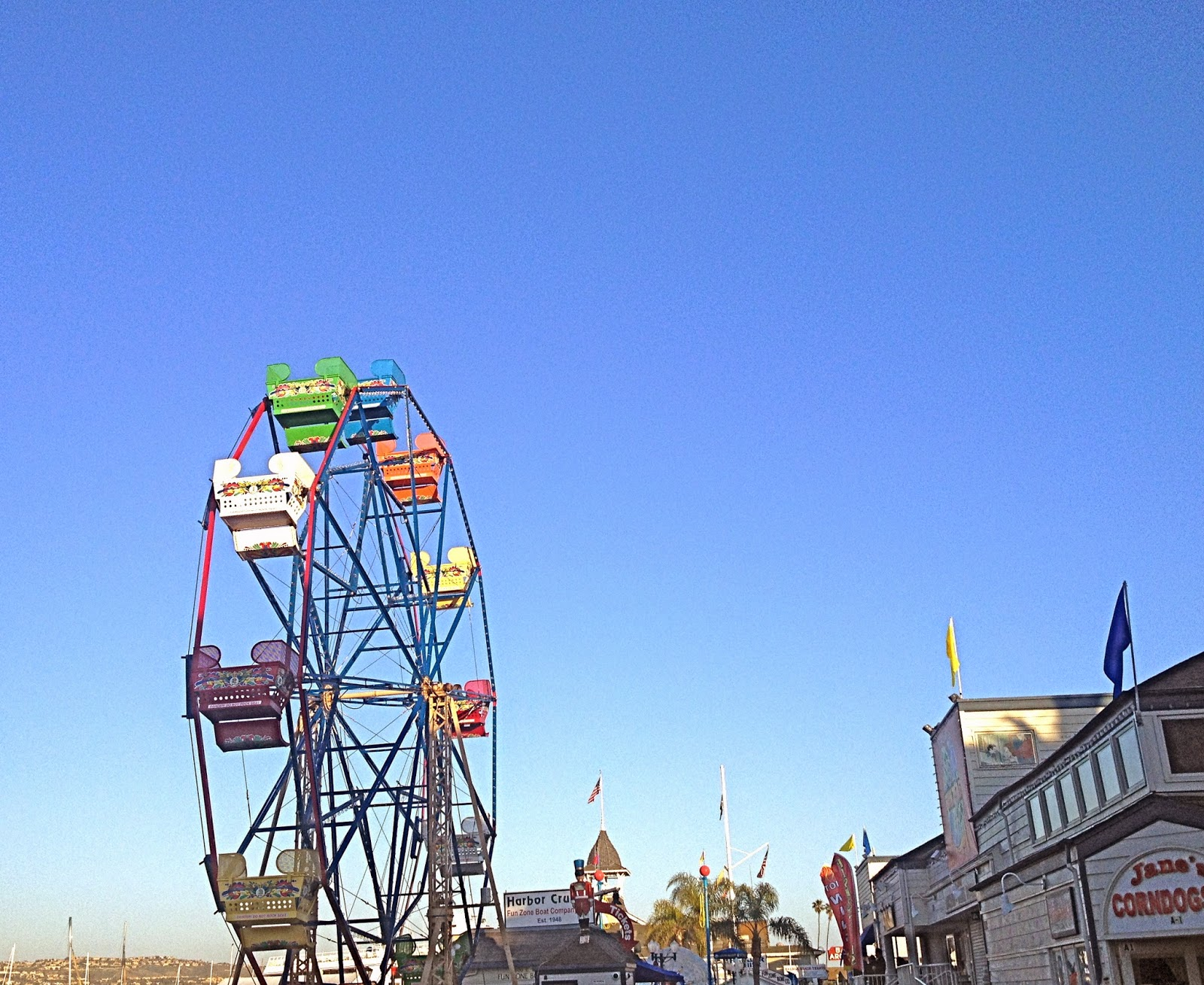 Balboa Island Ferris Wheel