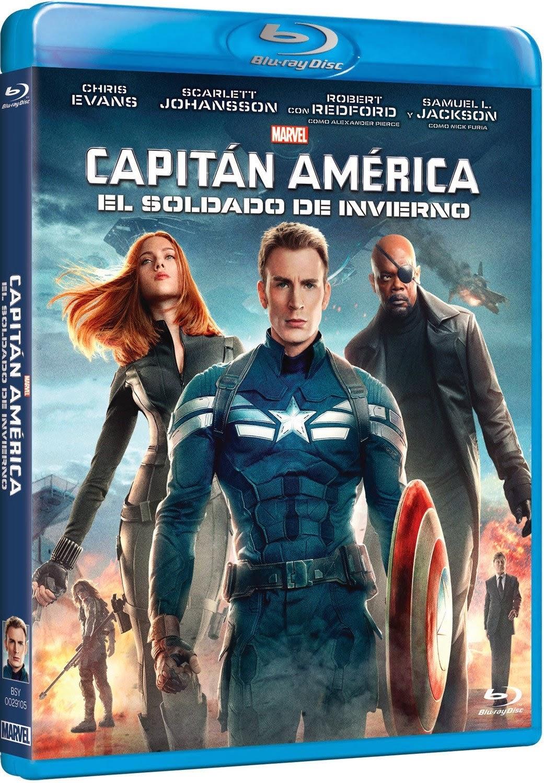 capitan américa el soldado de invierno blue-ray