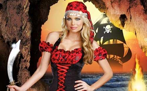 Ideas para un disfraz de pirata casero