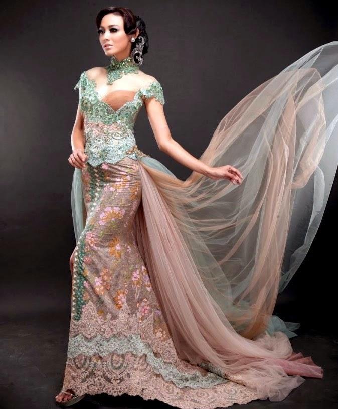 Inspirasi Model Baju Kebaya Modern Untuk Pesta Kumpulan Model Kebaya Modern