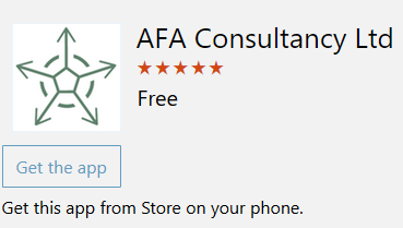 AFA in Windows 10
