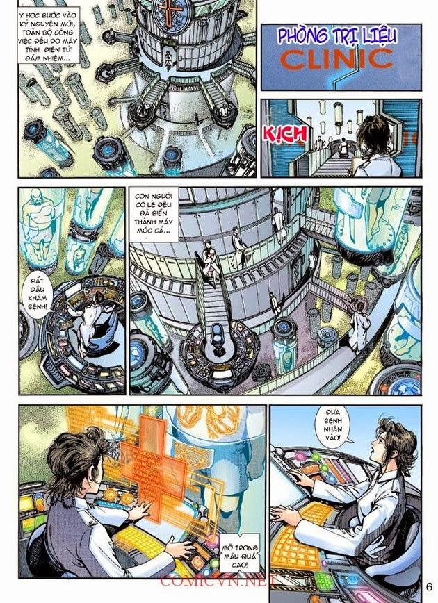 Thần Binh Khoa Huyễn Ký chap 2 - Trang 6